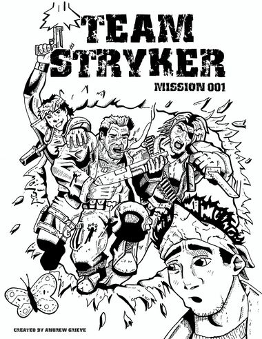 MISSION 001 COVER (INK)