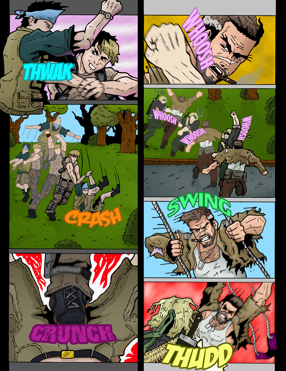 "MISSION 002: PAGE 20 ""THWAK CRASH CRUNCH"""