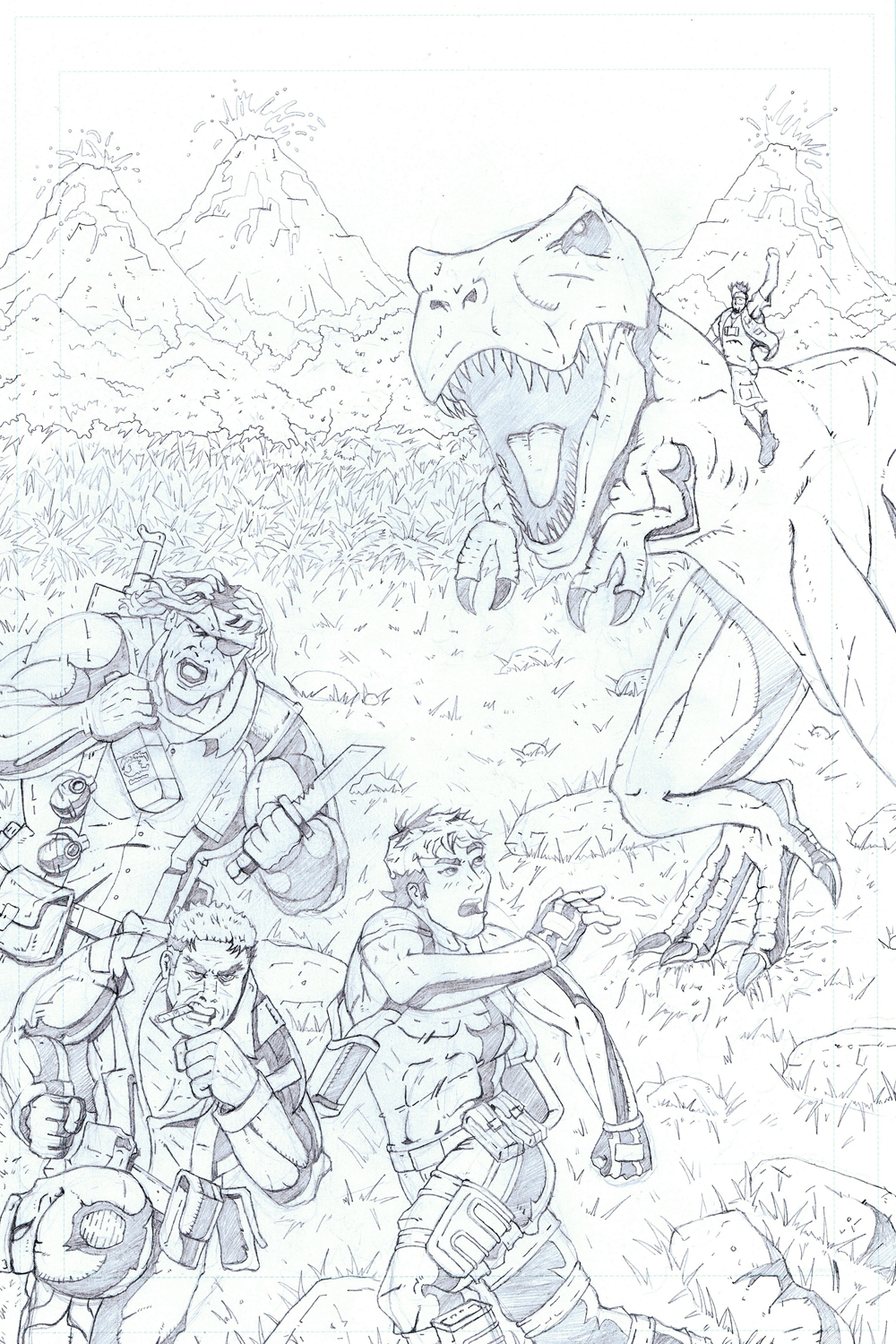 MISSION 003: A WALK IN THE (JURASSIC) PARK-PENCIL