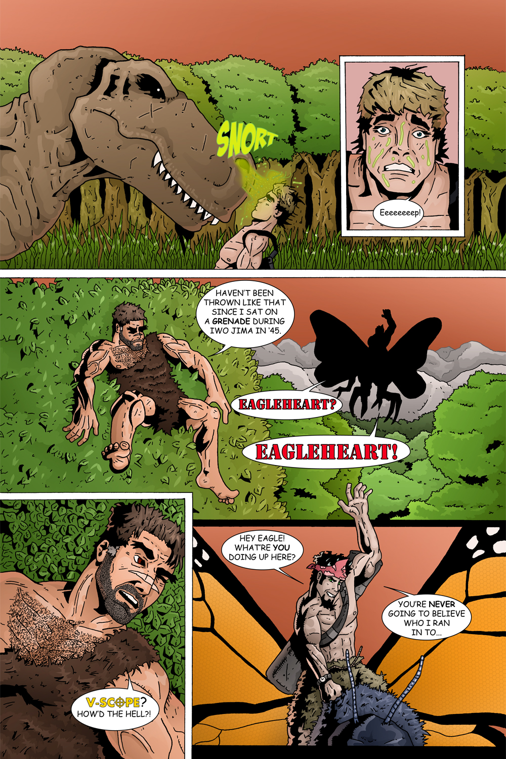 "MISSION 003: PAGE 18 ""EAGLEHEART? EAGLEHEART!"""