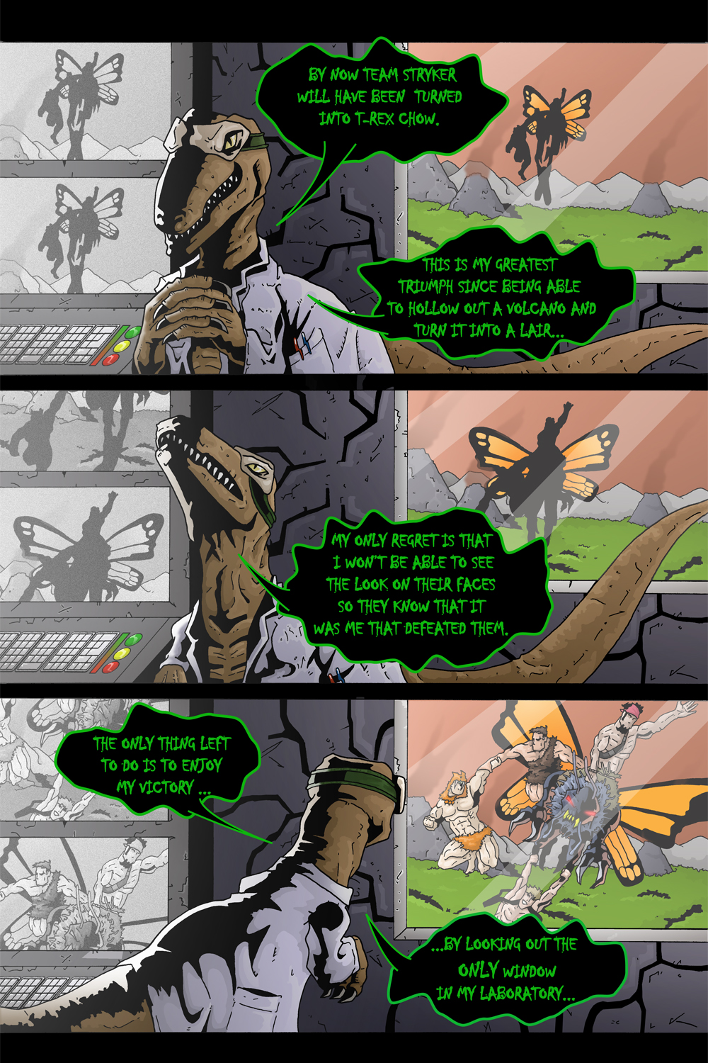 "MISSION 003: PAGE 22 ""MY GREATEST TRIUMPH"""