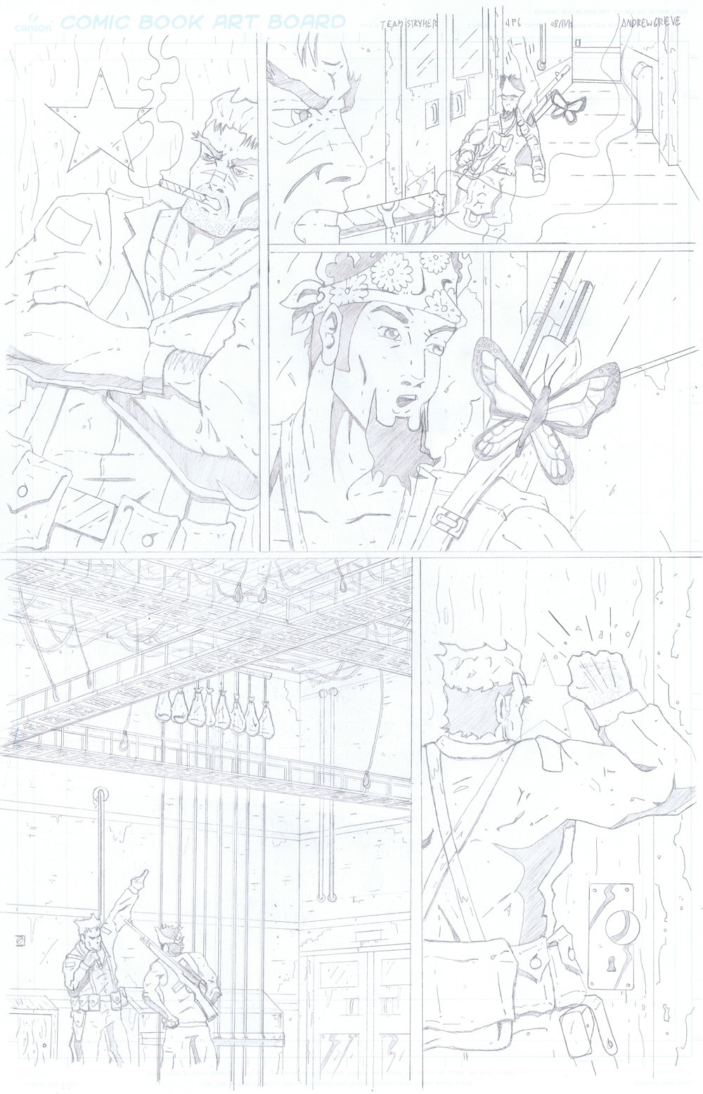 MISSION 004: PAGE 06 PENCIL