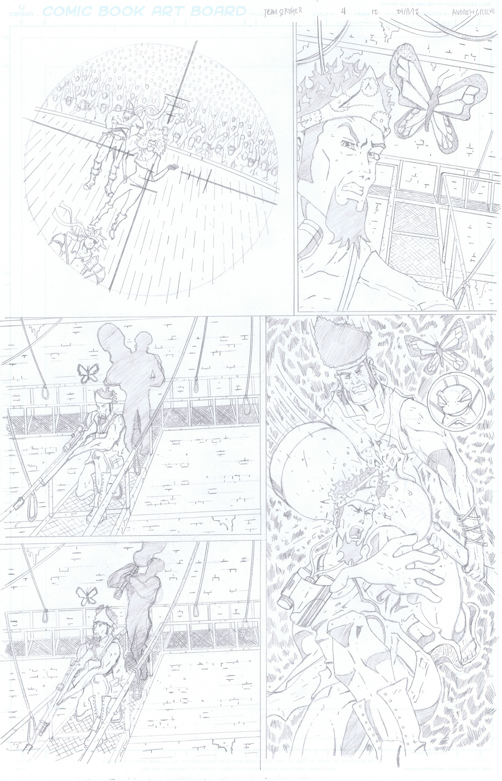 MISSION 004: PAGE 12 PENCIL