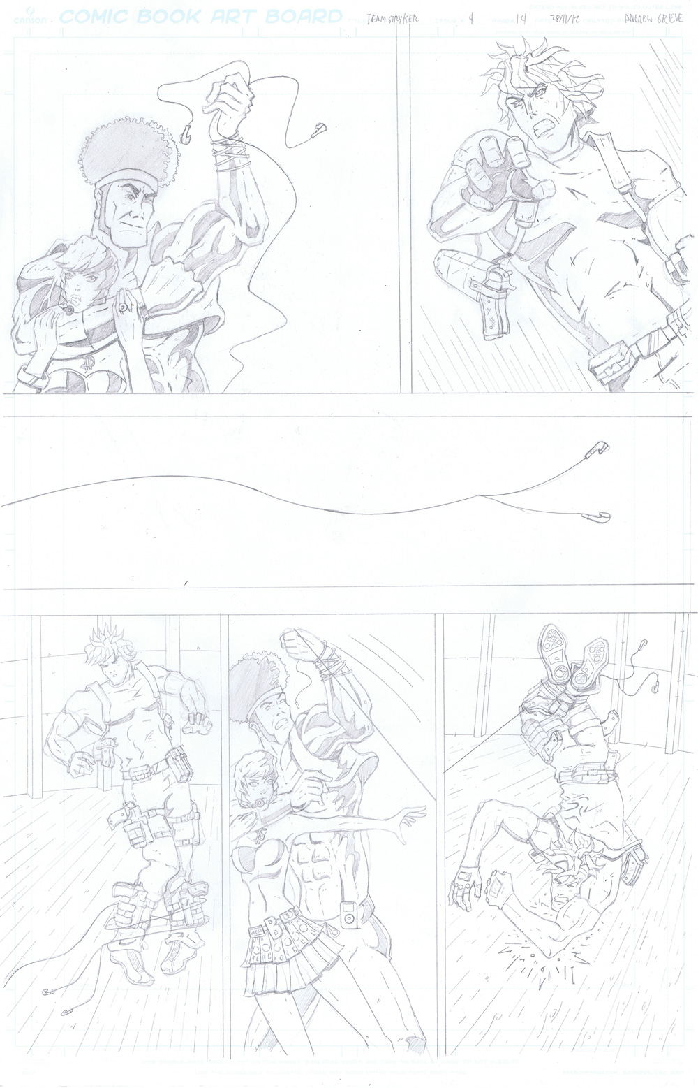 MISSION 004: PAGE 14 PENCIL
