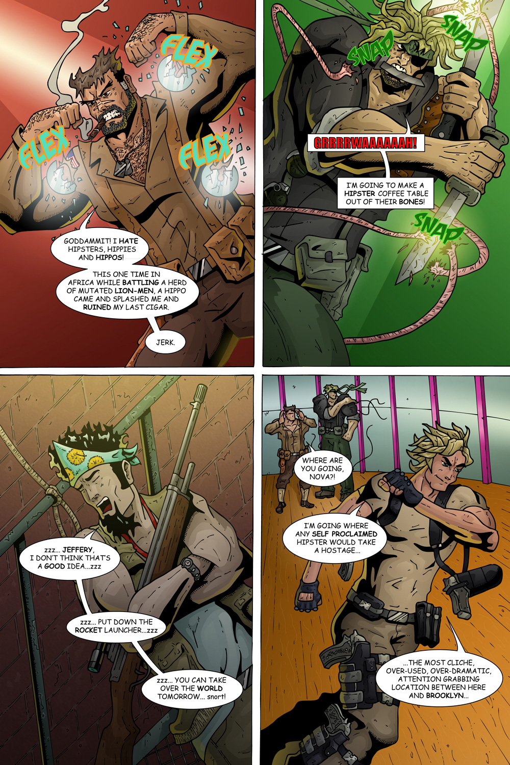 "MISSION 004: PAGE 15 ""PUT DOWN THE ROCKET LAUNCHER"""