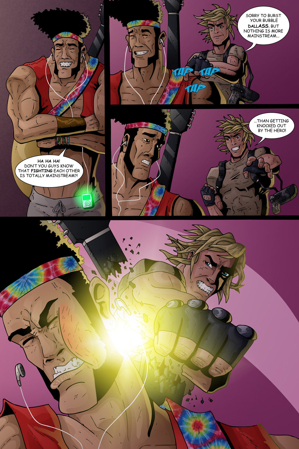 "MISSION 004: PAGE 23 ""BURST YOUR BUBBLE"""