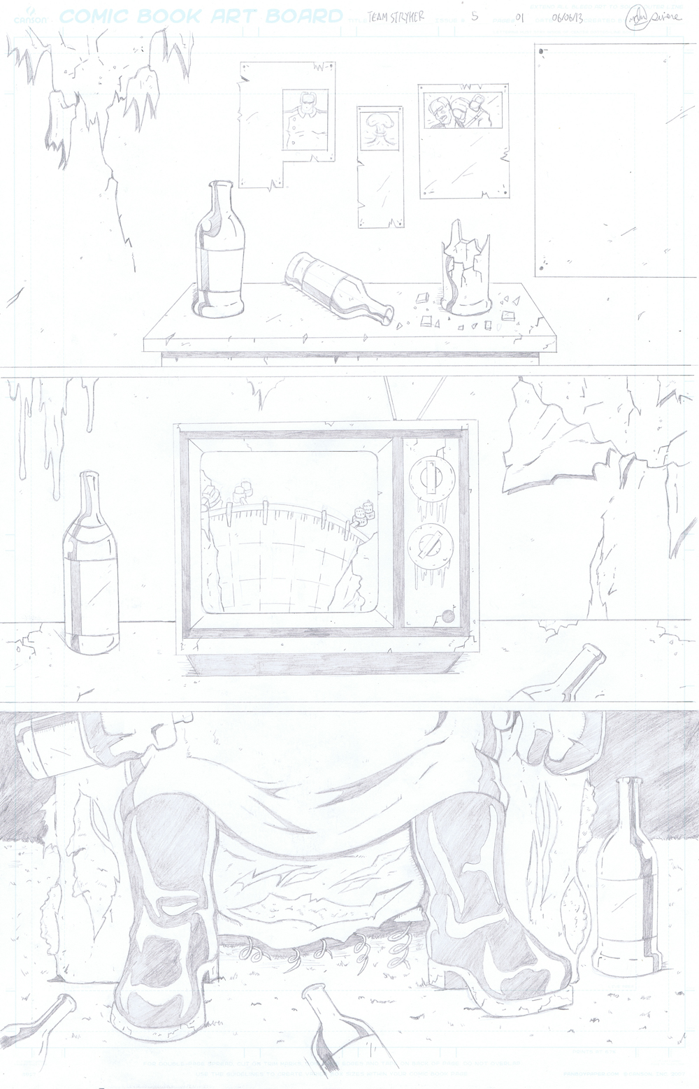 MISSION 005: PAGE 01 PENCIL