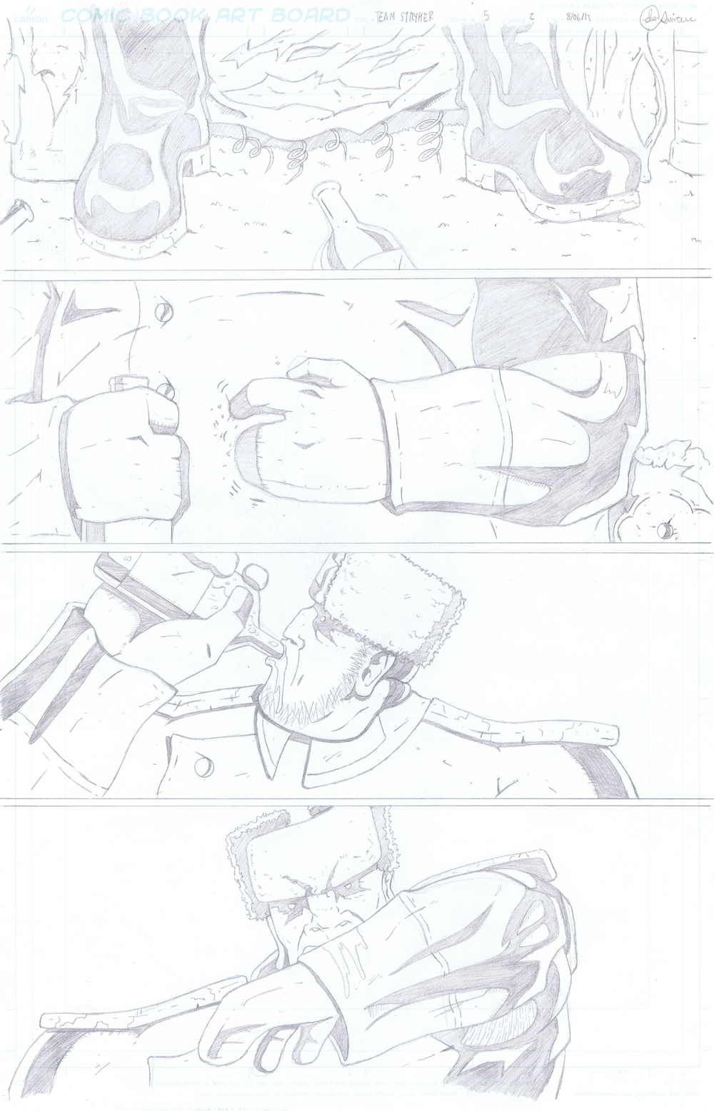 MISSION 005: PAGE 02 PENCIL