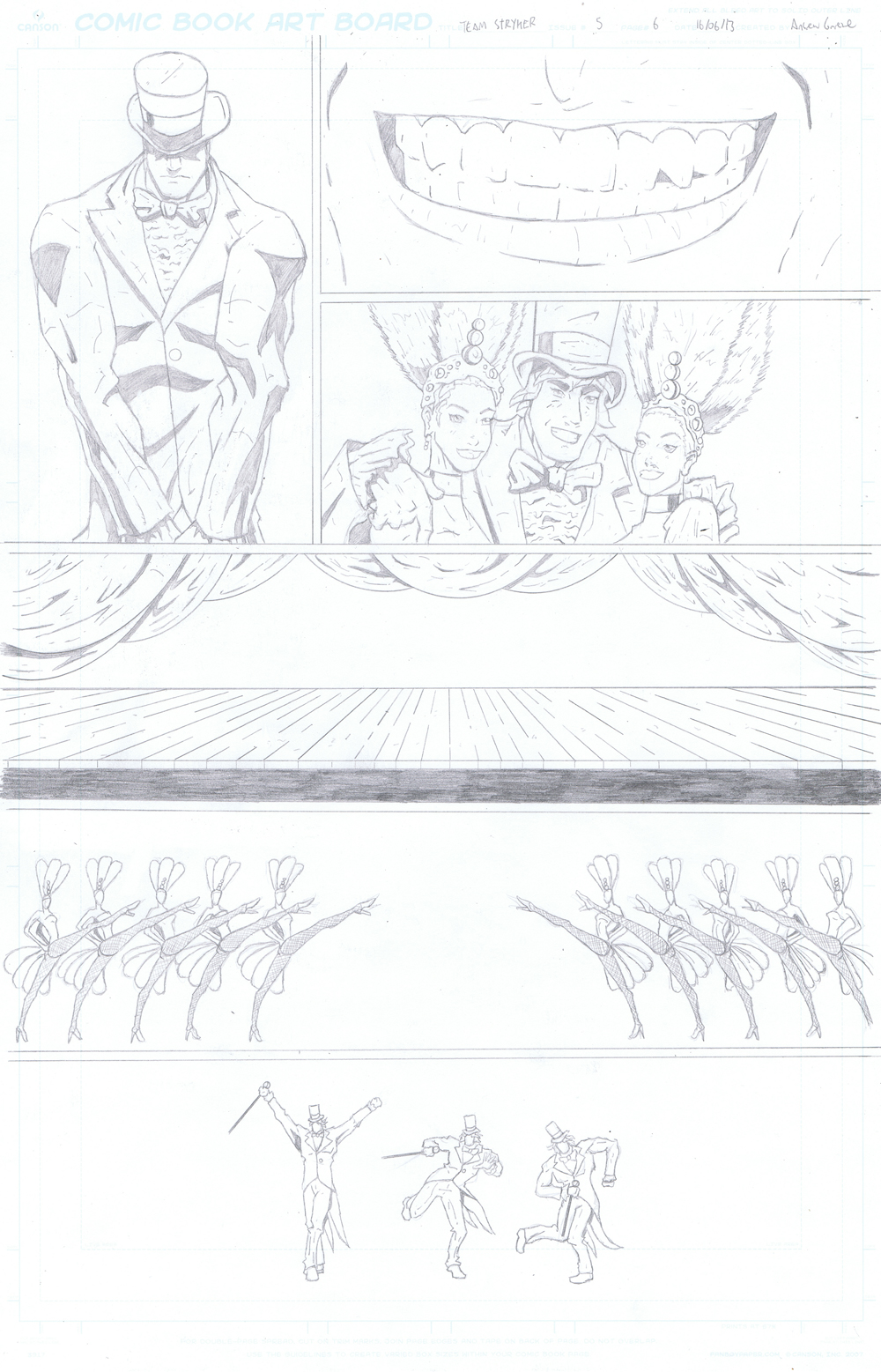 MISSION 005: PAGE 06 PENCIL
