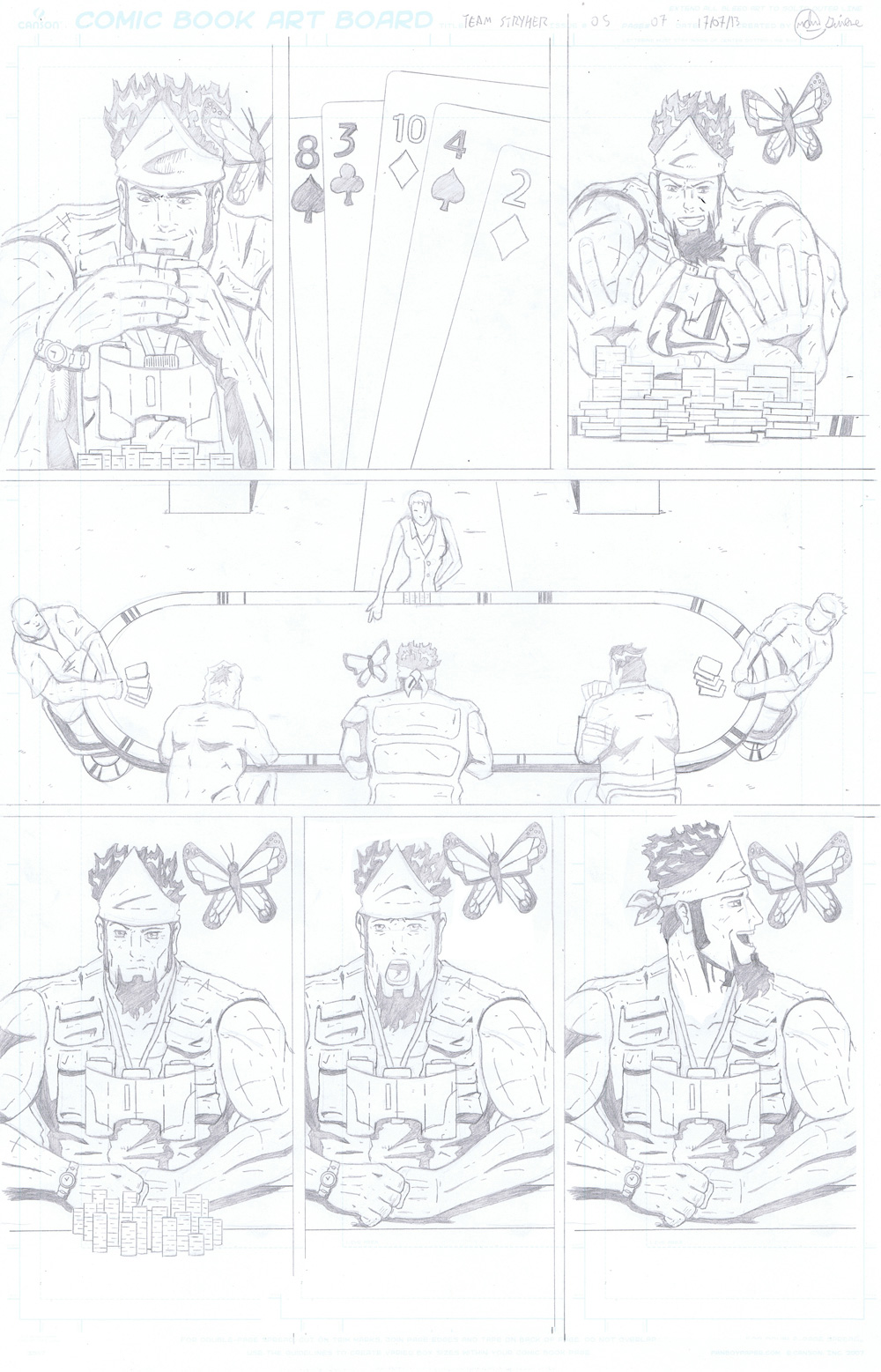 MISSION 005 PAGE 07 PENCIL