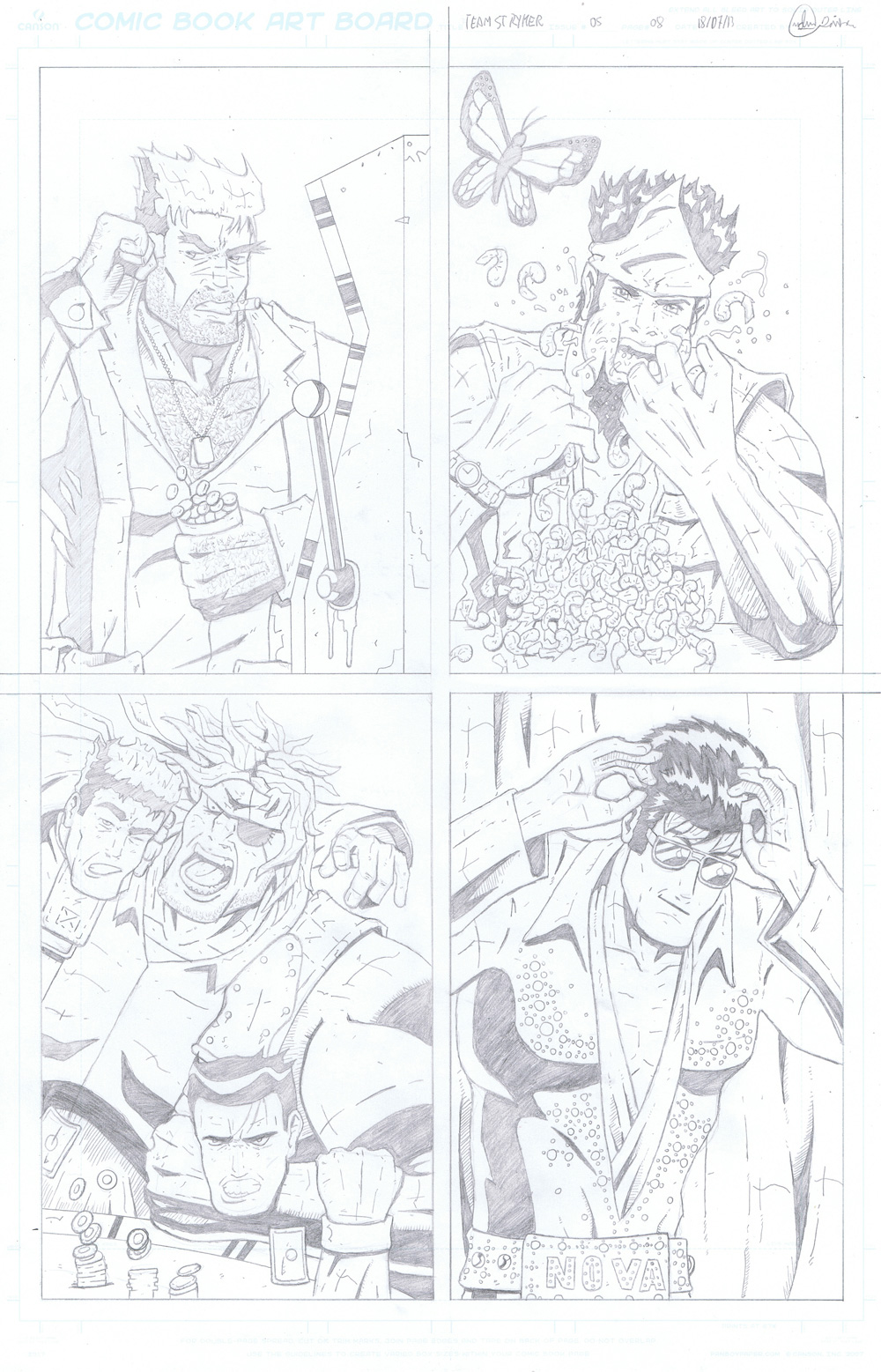 MISSION 005: PAGE 08 PENCIL