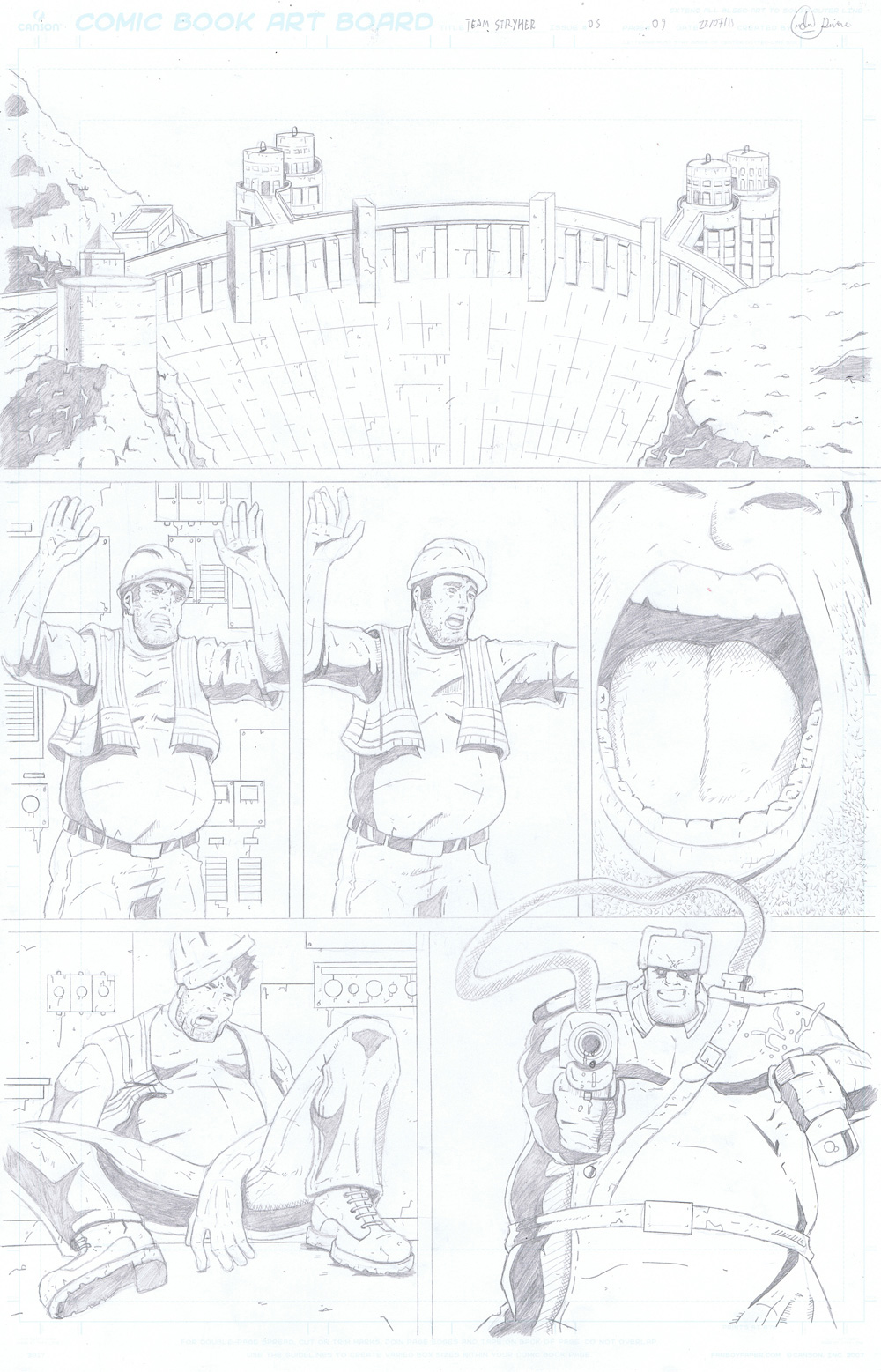 MISSION 005: PAGE 09 PENCIL