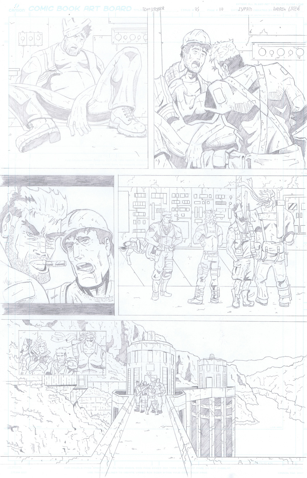 MISSION 005: PAGE 10 PENCIL
