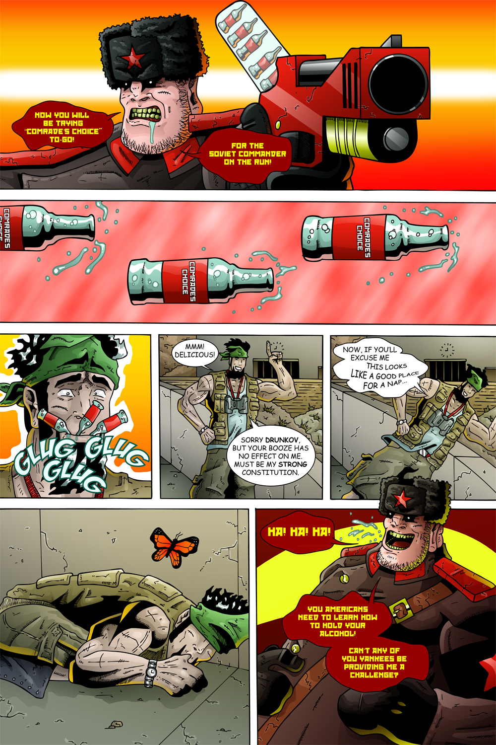 "MISSION 005: PAGE 16 ""STRONG CONSTITUTION"""