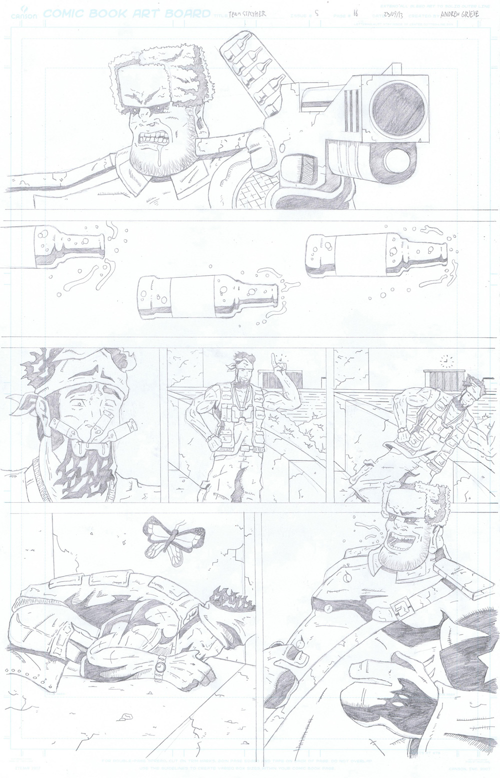 MISSION 005: PAGE 16 PENCIL