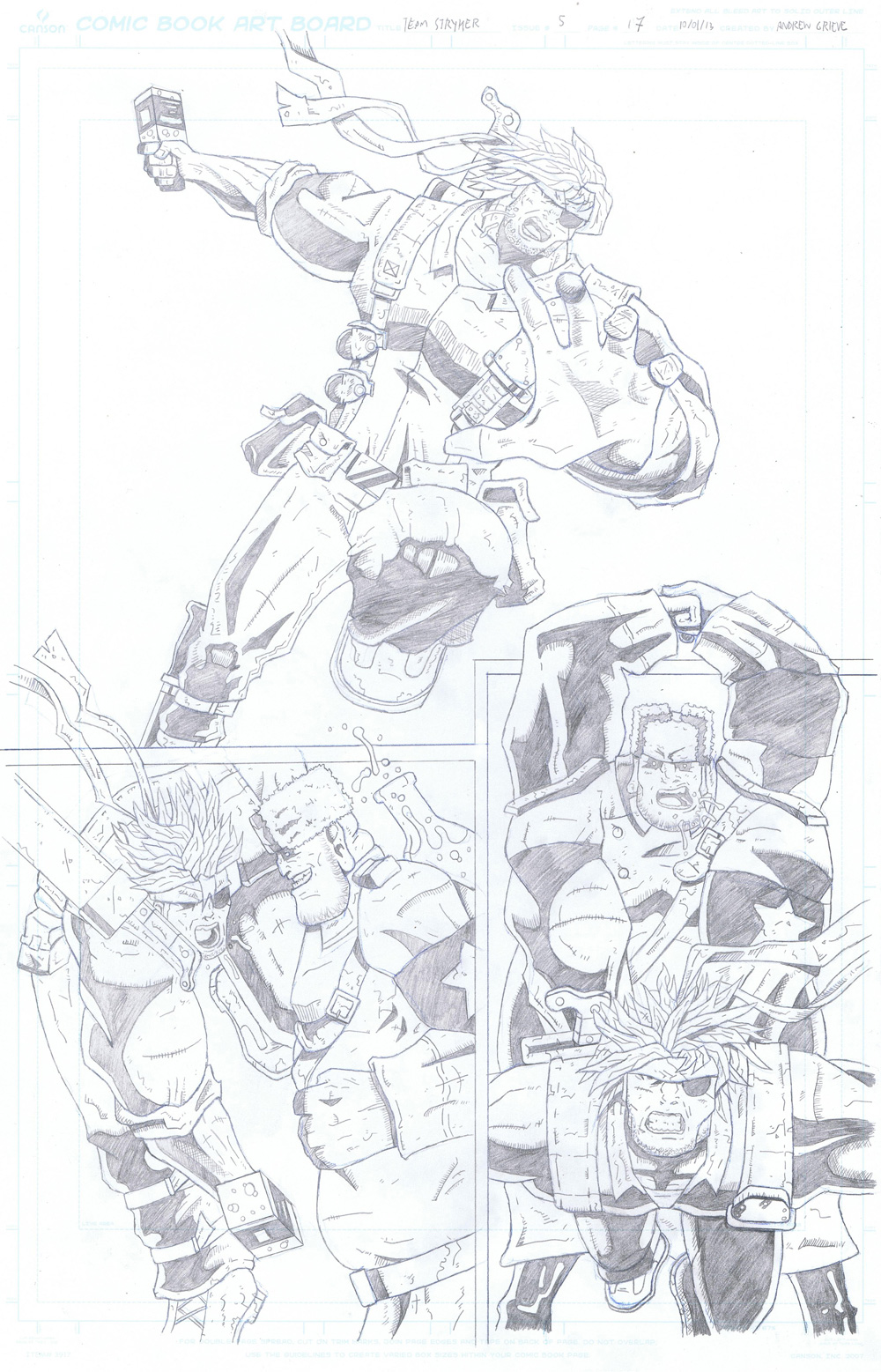 MISSION 005: PAGE 17 PENCIL
