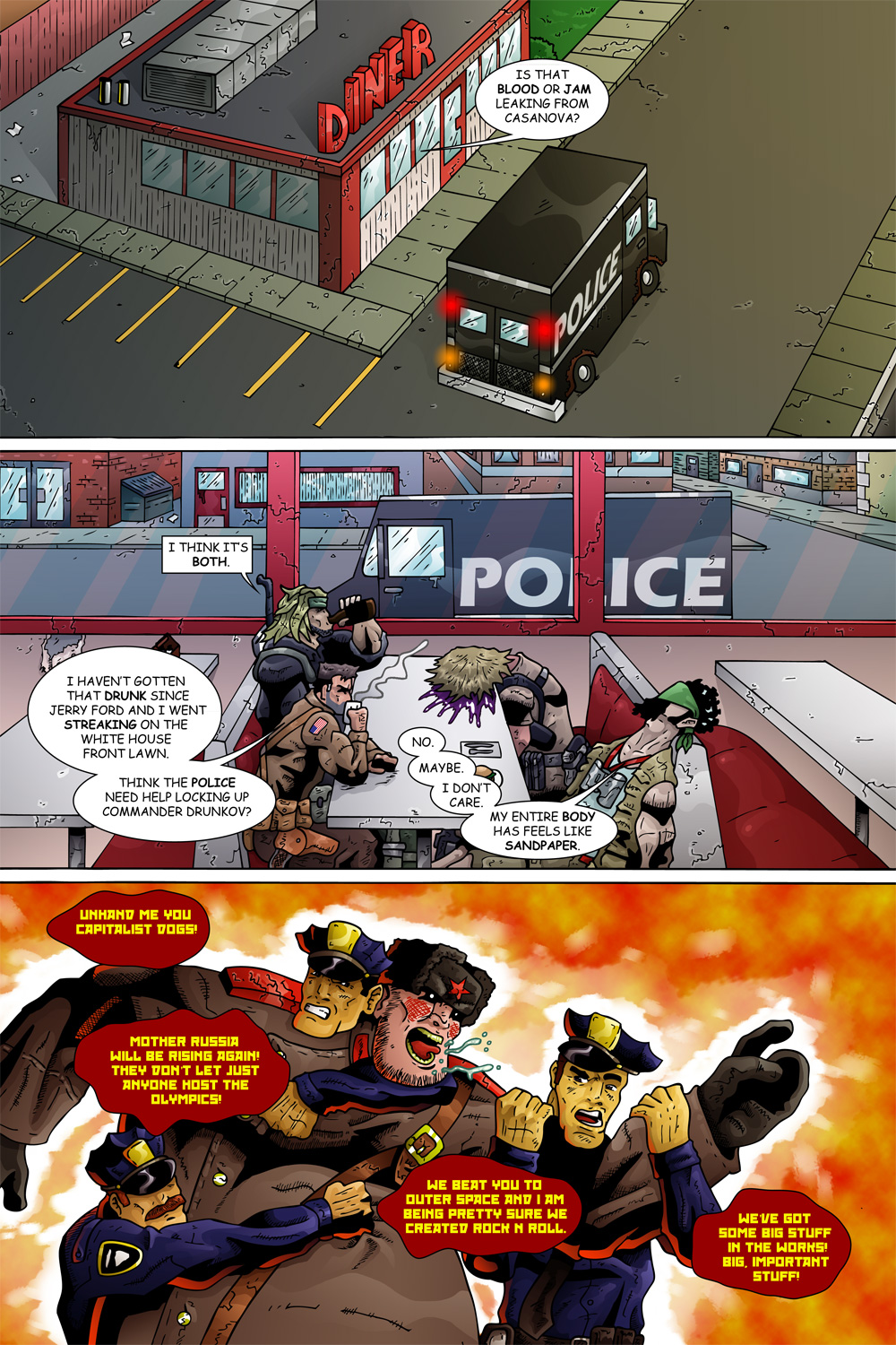 "MISSION 005: PAGE 23 ""BLOOD OR JAM"""