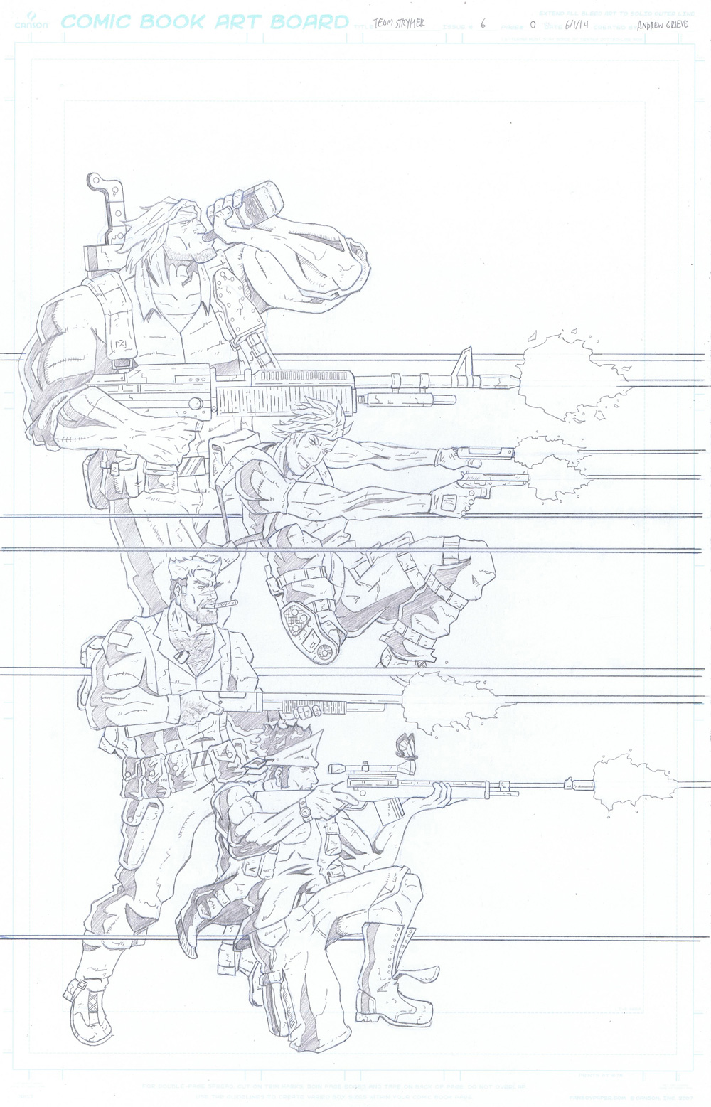 MISSION 006: SPACE COMMIES FROM OUTER SPACE PENCIL