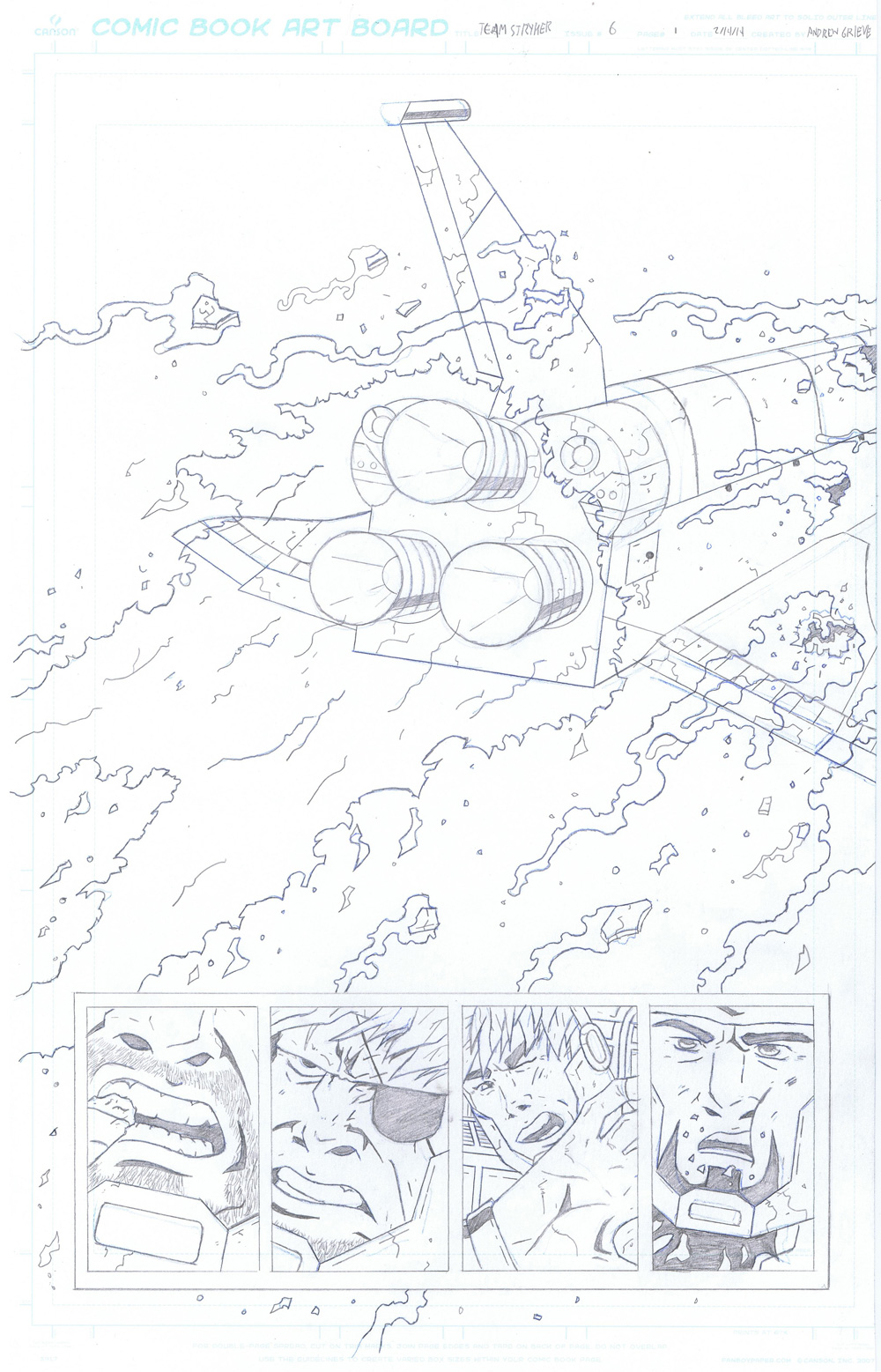 MISSION 006: PAGE 01 PENCIL