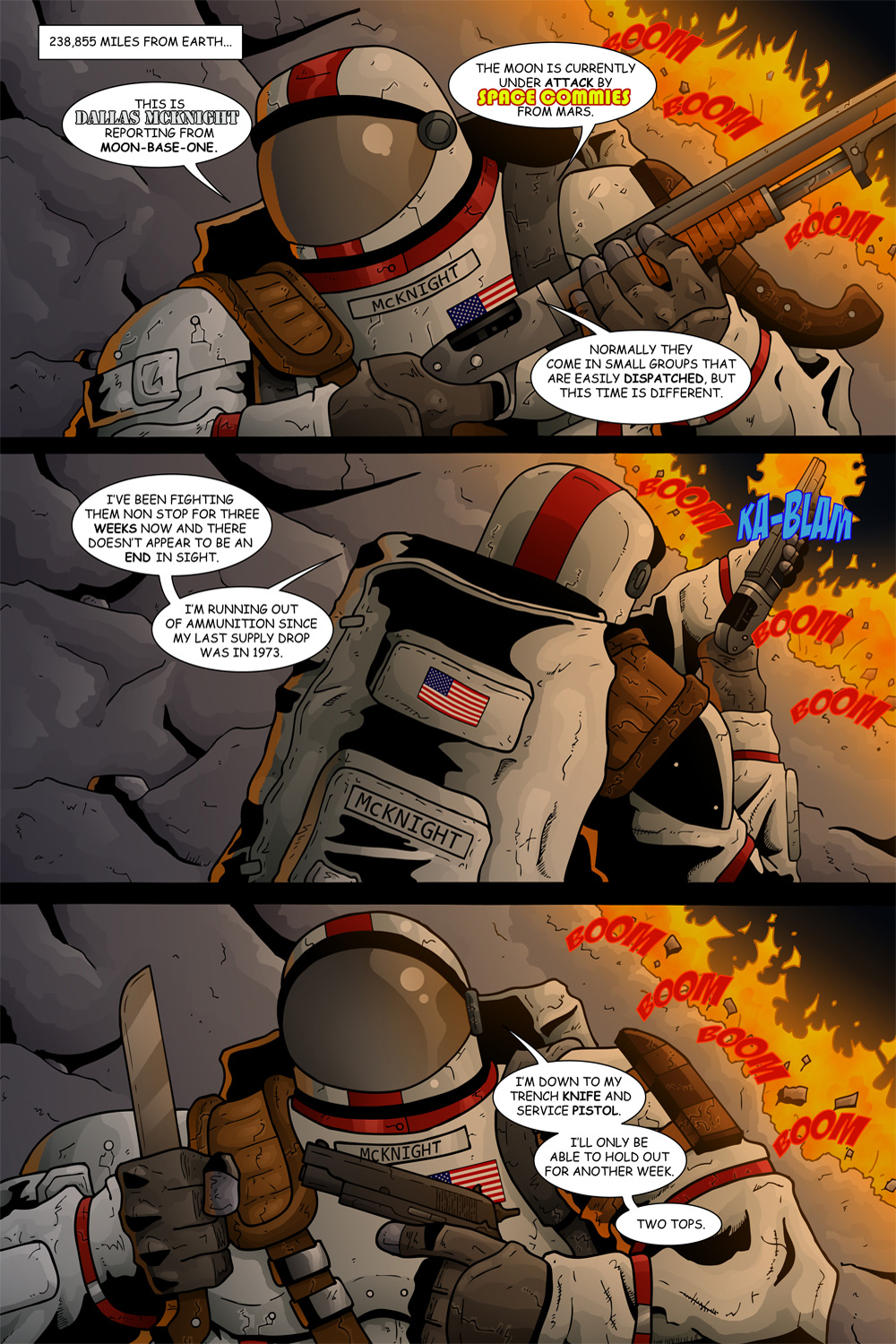 "MISSION 006: PAGE 03 ""MOON-BASE ONE"""