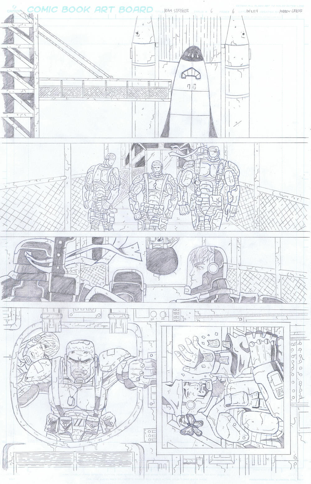 MISSION 006: PAGE 06 PENCIL