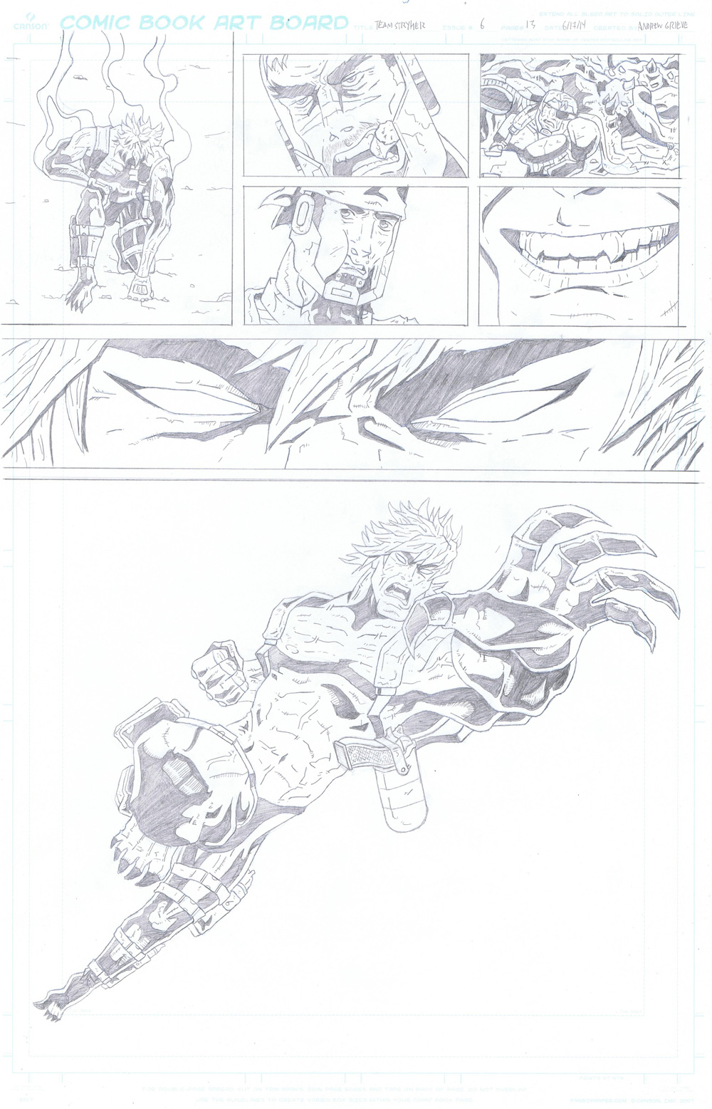 MISSION 006: PAGE 13 PENCIL
