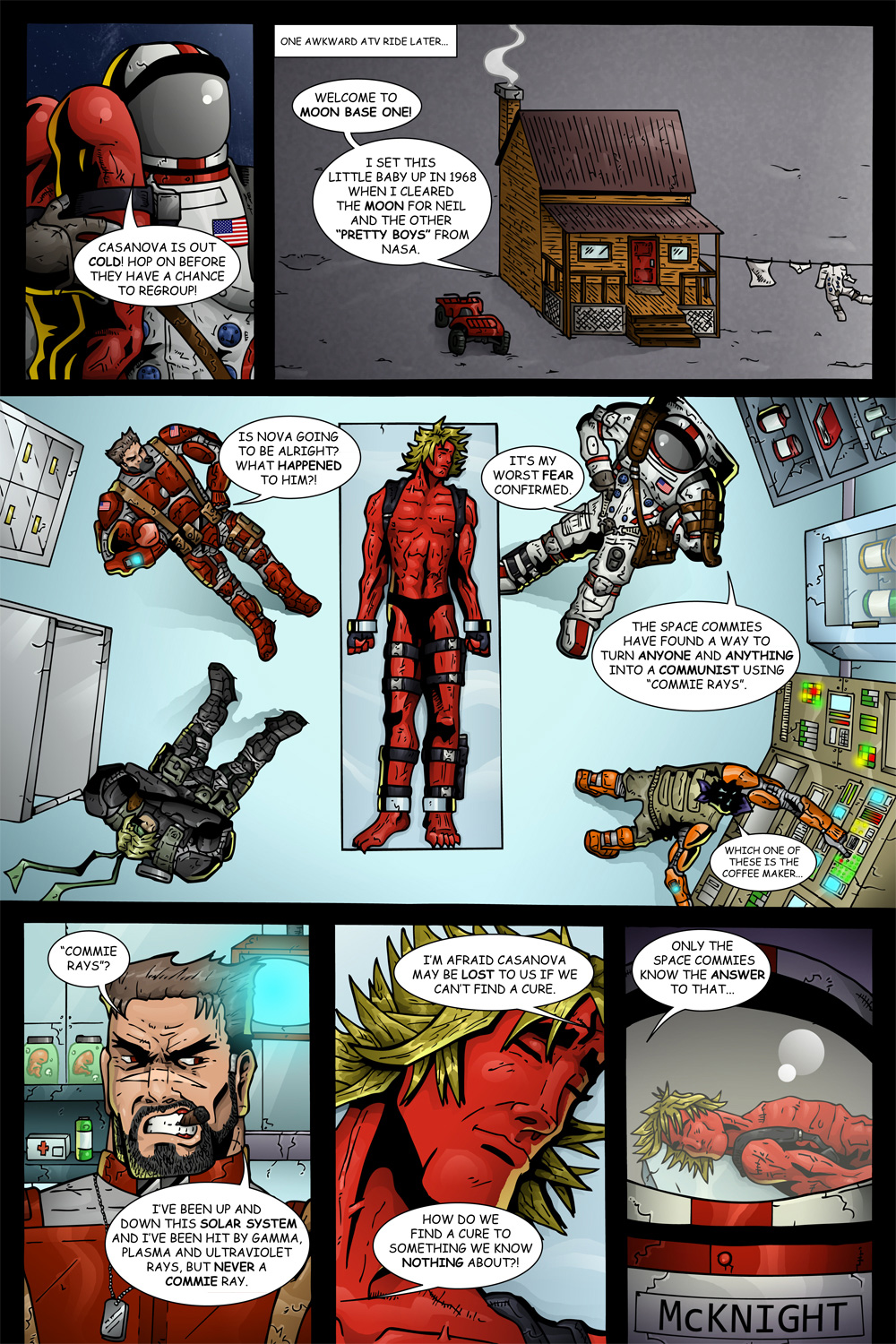 "MISSION 006: PAGE 15 ""AWKWARD ATV RIDE"""