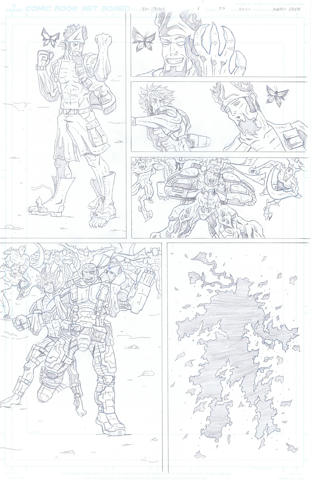 MISSION 006: PAGE 20 PENCIL