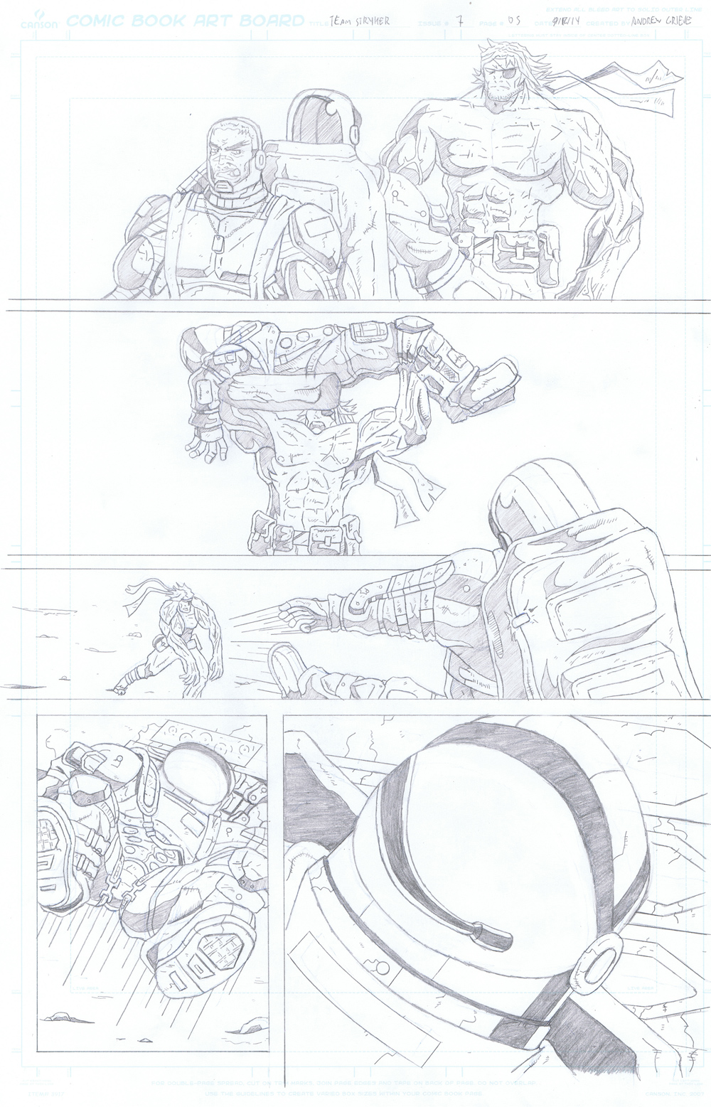 MISSION 007: PAGE 05 PENCIL