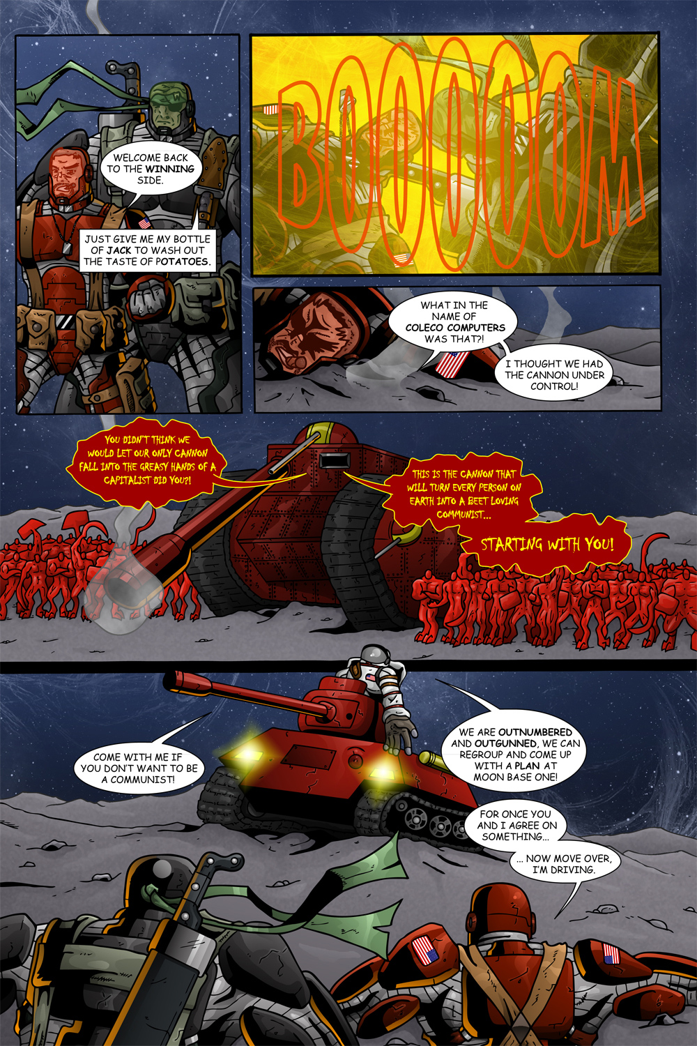 "MISSION 007: PAGE 07 ""BEET LOVING COMMUNIST"""