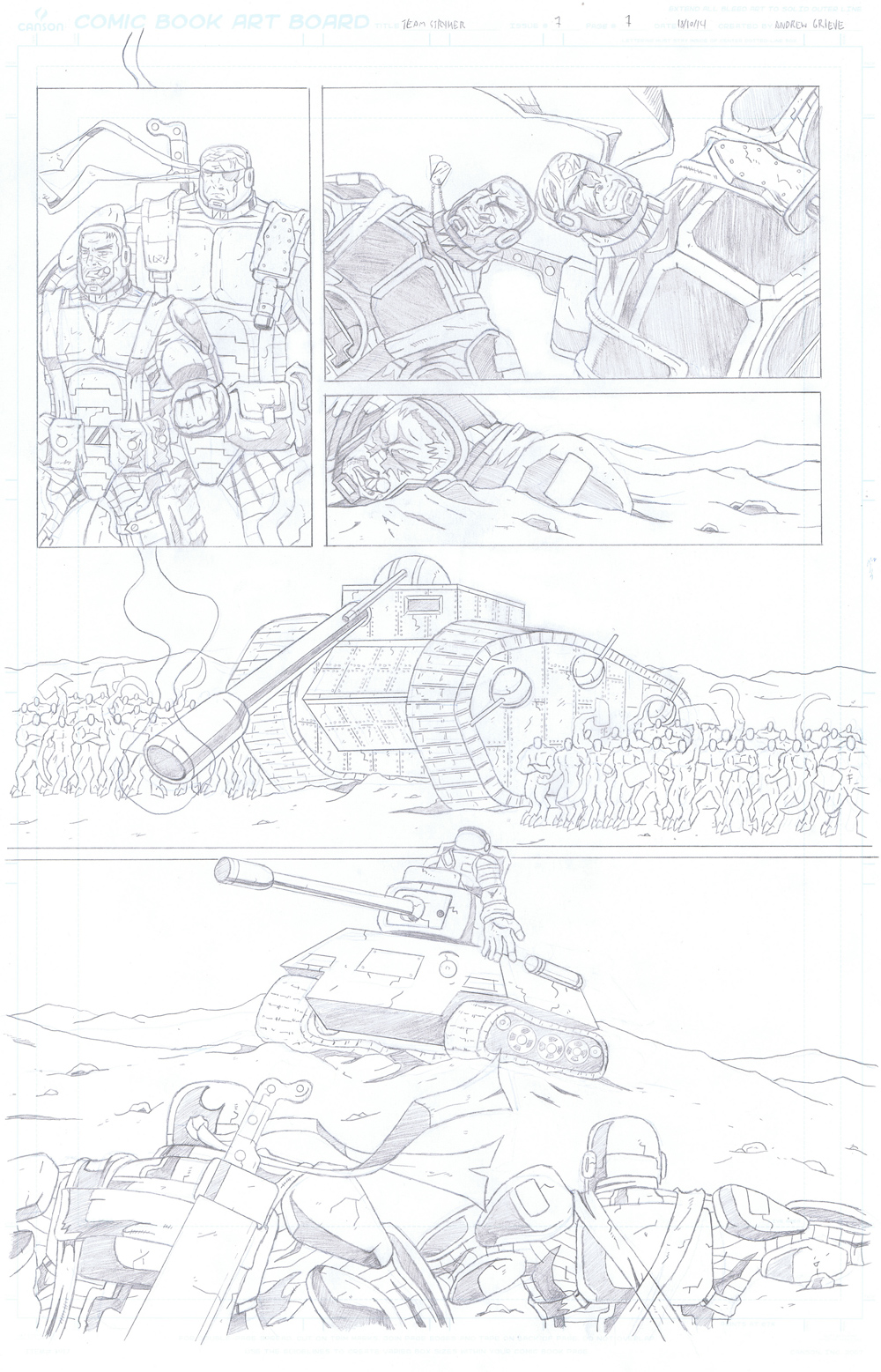 MISSION 007: PAGE 07 PENCIL