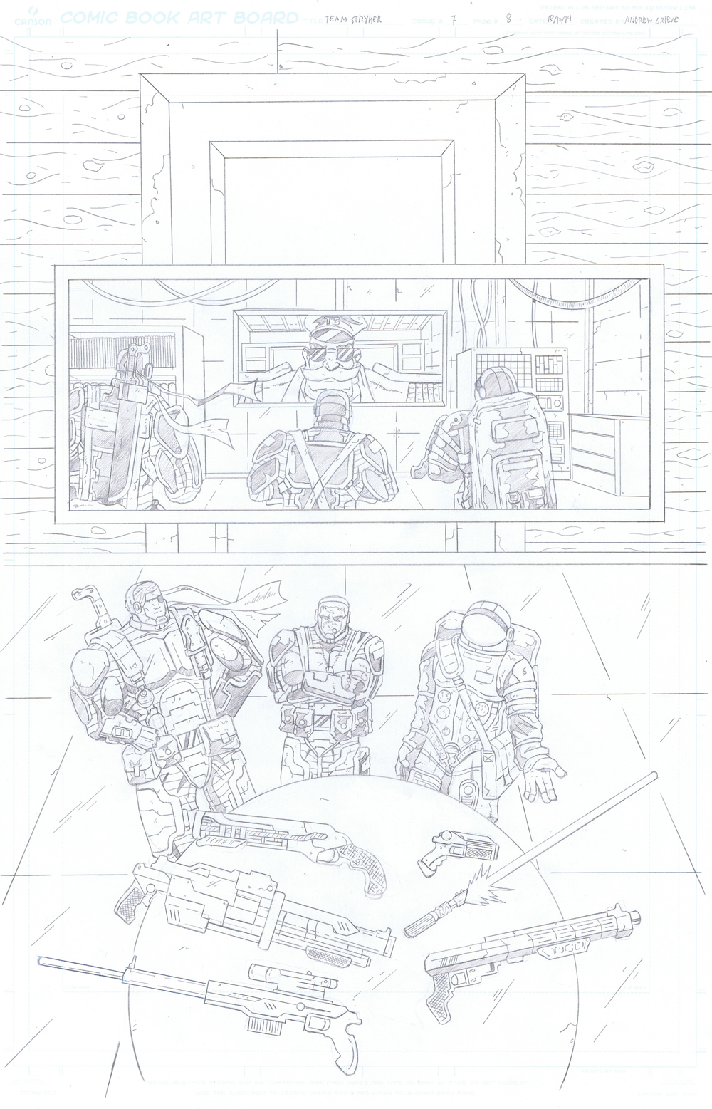 MISSION 007: PAGE 08 PENCIL