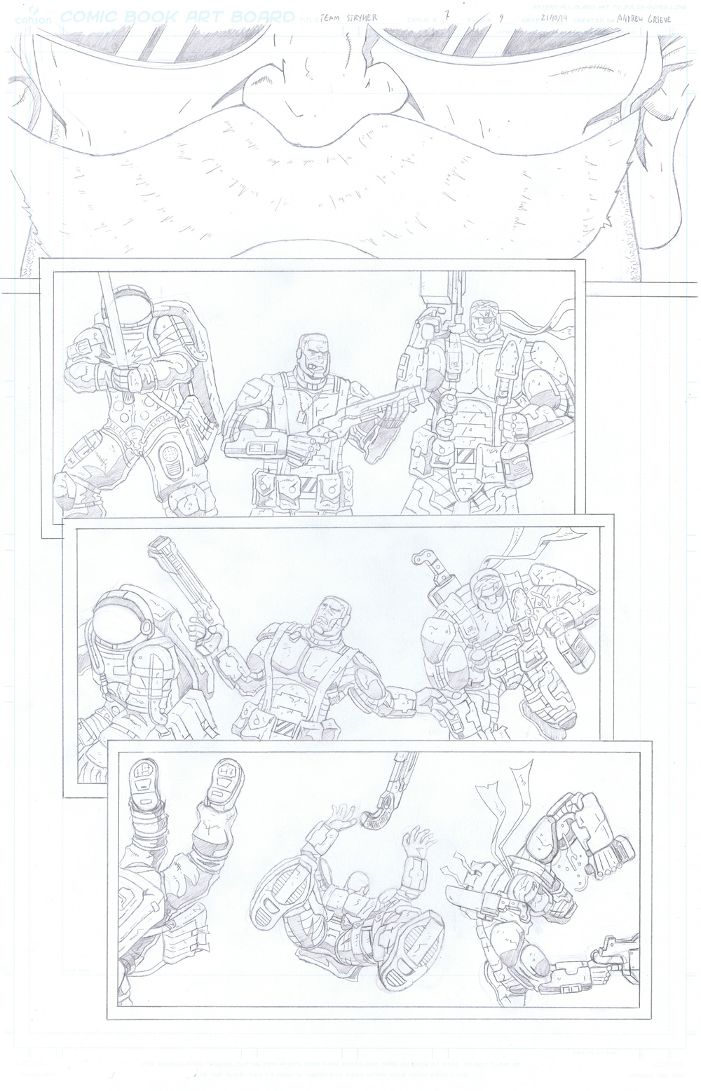 MISSION 007: PAGE 09 PENCIL