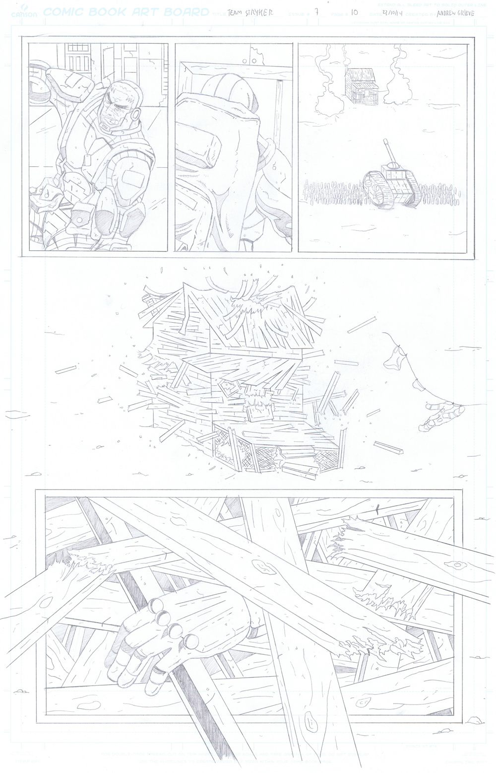 MISSION 007: PAGE 10 PENCIL