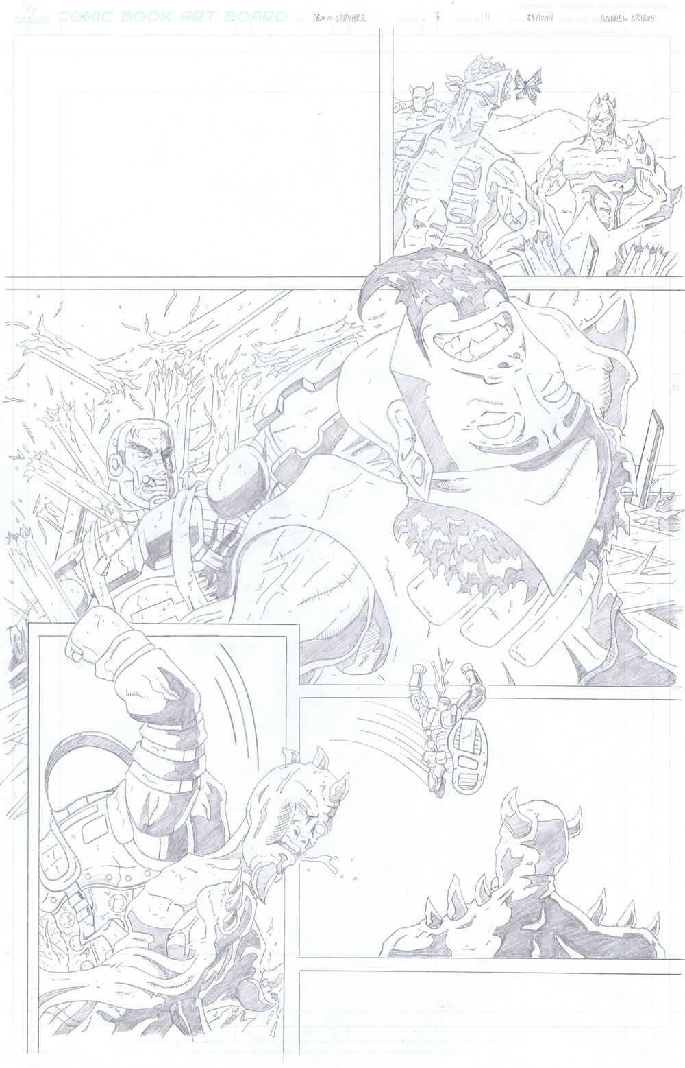 MISSION 007: PAGE 11 PENCIL