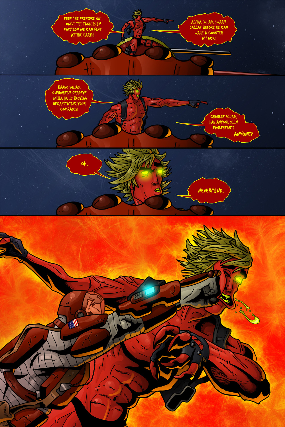 """MISSION 007: PAGE 14 """"OH."""""""