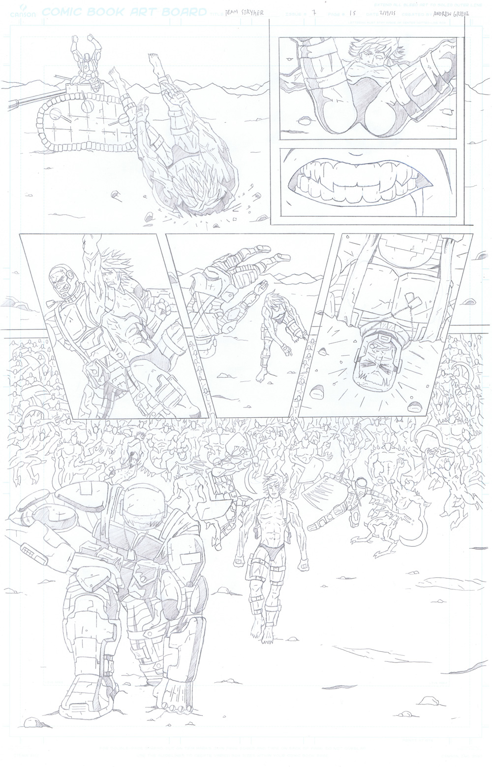 MISSION 007: PAGE 15 PENCIL