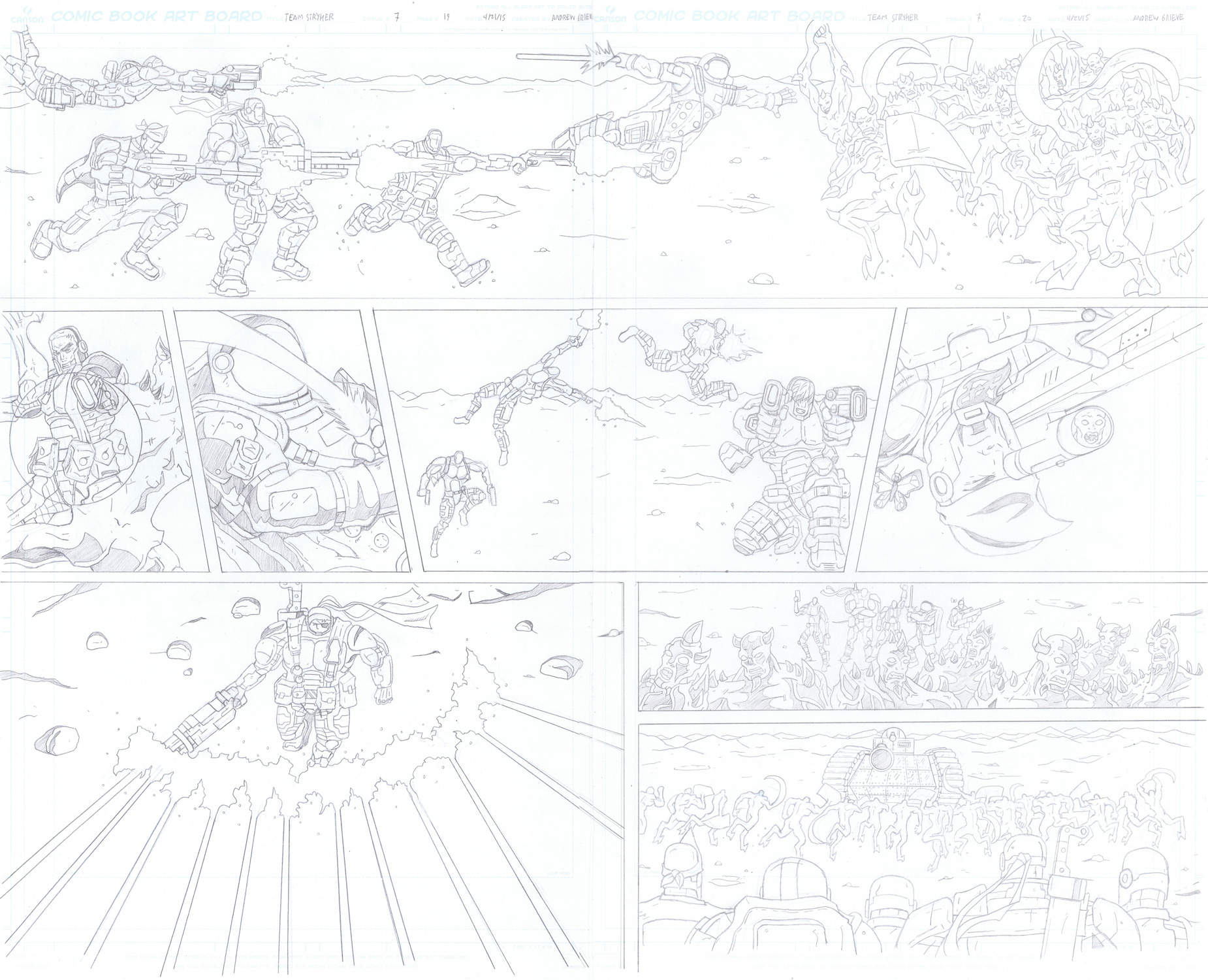 MISSION 007: PAGE 19-20 PENCIL