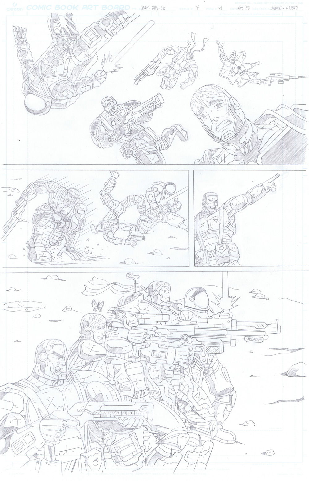 MISSION 007: PAGE 21 PENCIL