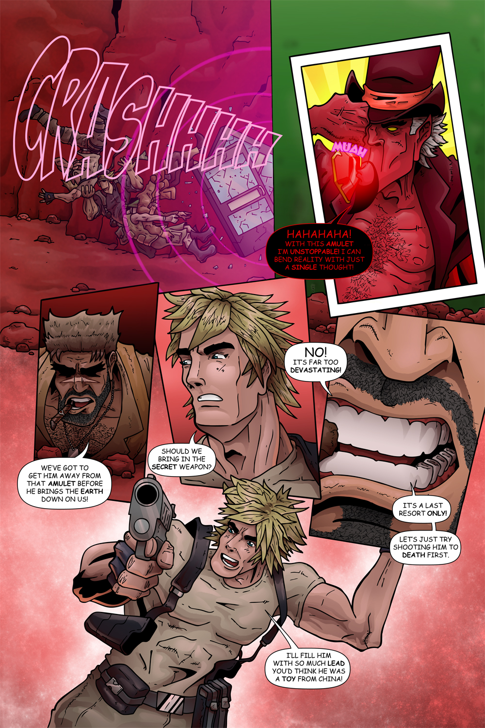 "MISSION 008: PAGE 15 ""TOO DEVASTATING"""