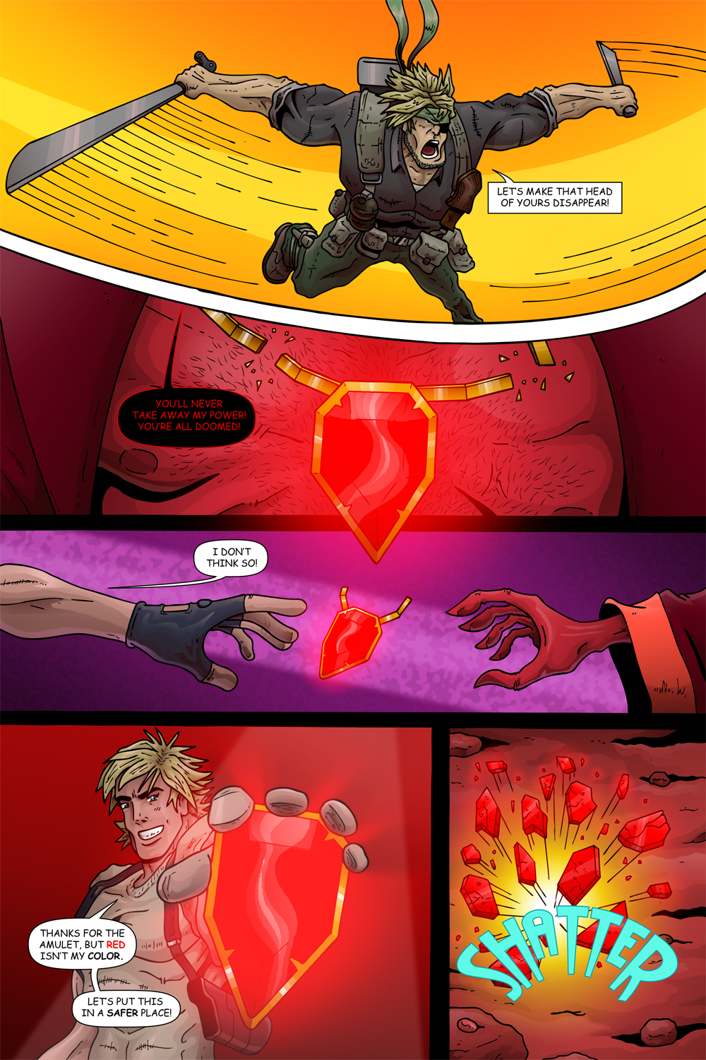 MISSION 008: PAGE 21″ YOU'RE ALL DOOMED!""