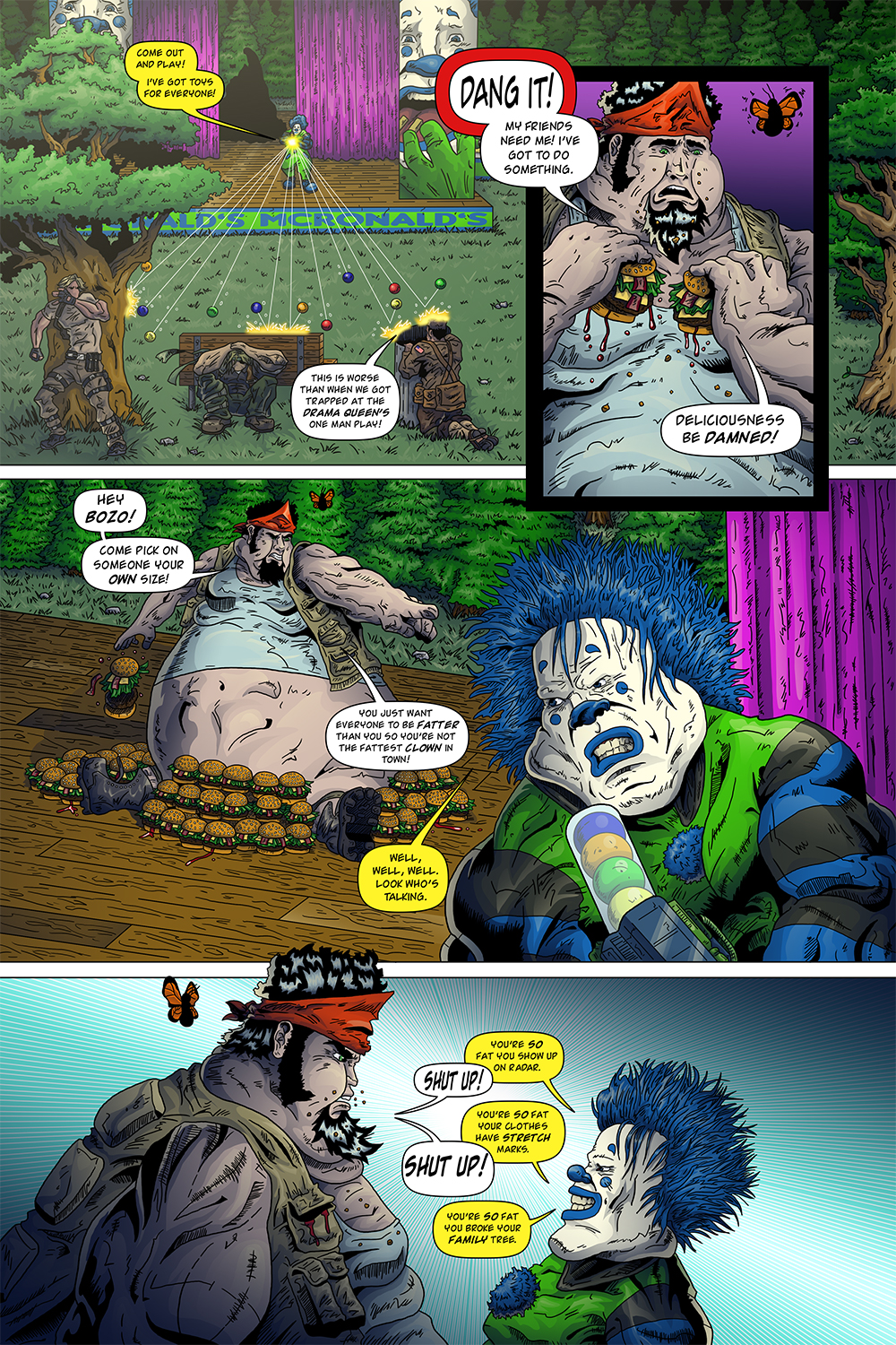 "MISSION 009: PAGE 20 ""HEY BOZO!"""