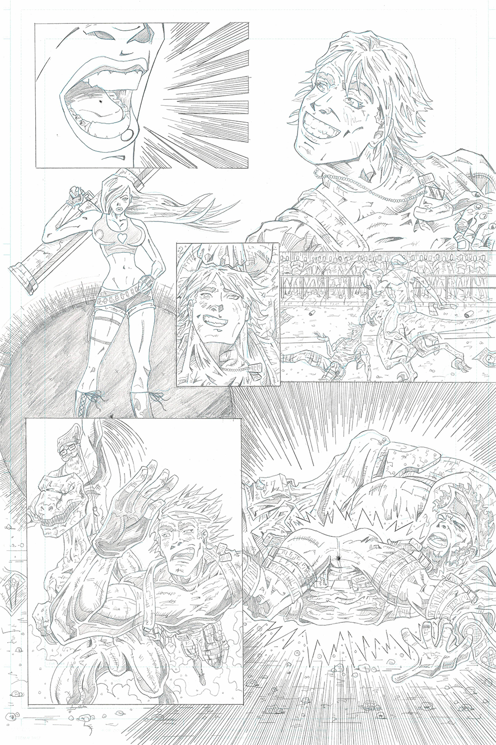 MISSION 010: PAGE 16 PENCIL